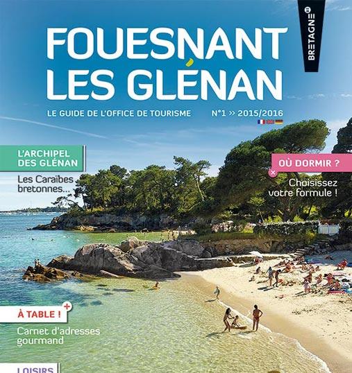Guide touristique de l'office de tourisme de Fouesnant Les Glénan