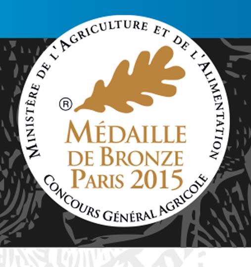 Bière blanche Terenez : médaille de Bronze 2015