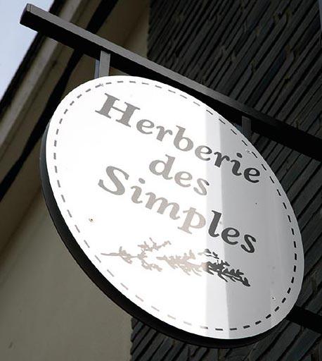 HERBERIE DES SIMPLES