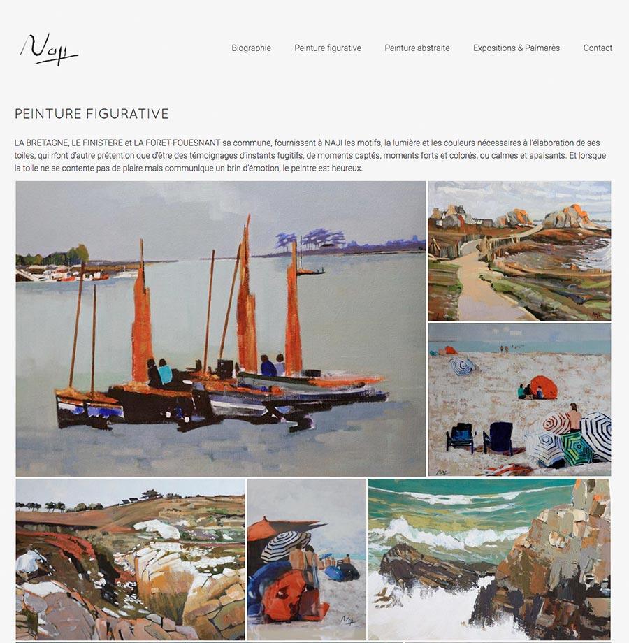 site internet de Naji Zeghdoudi