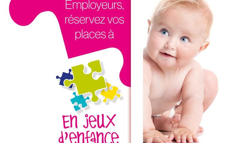 plaquette commerciale enjeux d'enfance à Brest