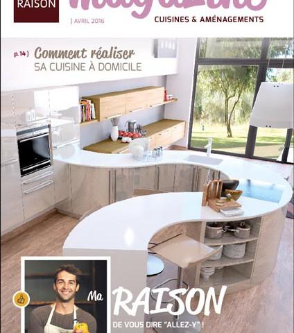 magazine de cuisines Raison