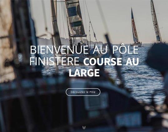 site web Pole Finistère Course au large