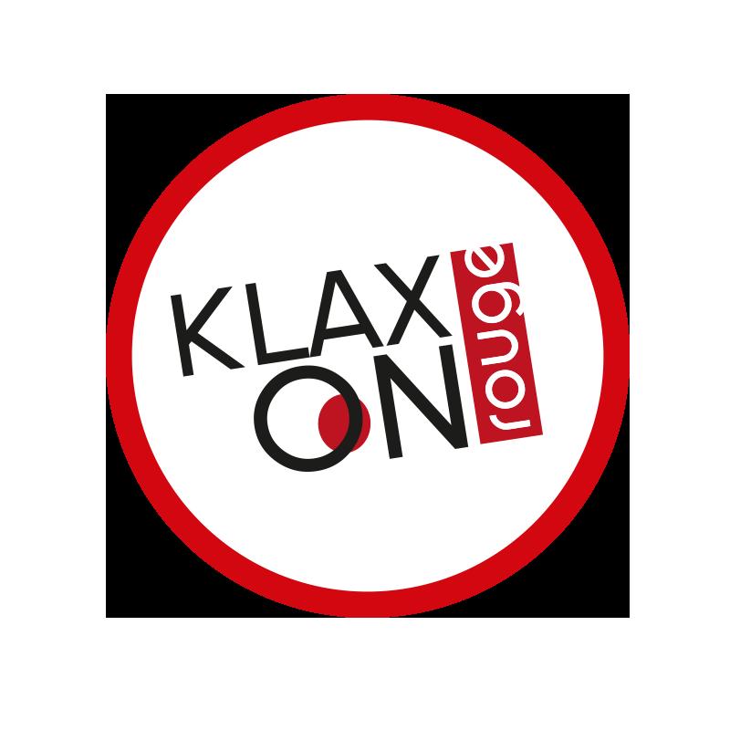 logo klaxon rouge